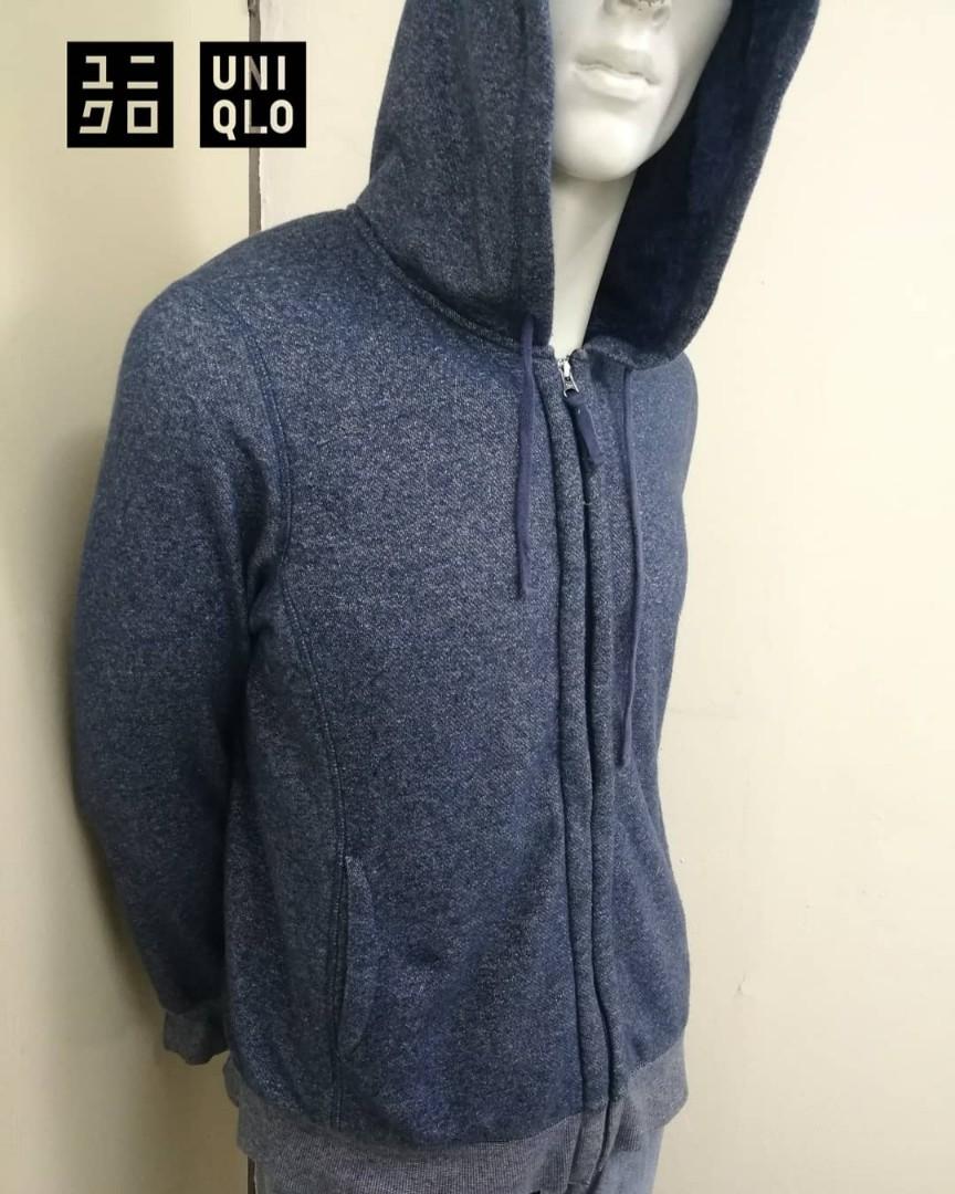 20214a1ff 🌟🌟🌟UNIQLO Fleece Long Sleeve Full Zip Hoodie Sweater