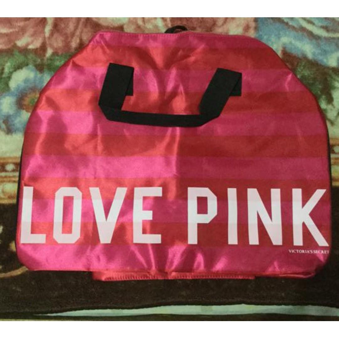 7e122e8ab28d Victoria Secret Pink Gym Duffle Bag