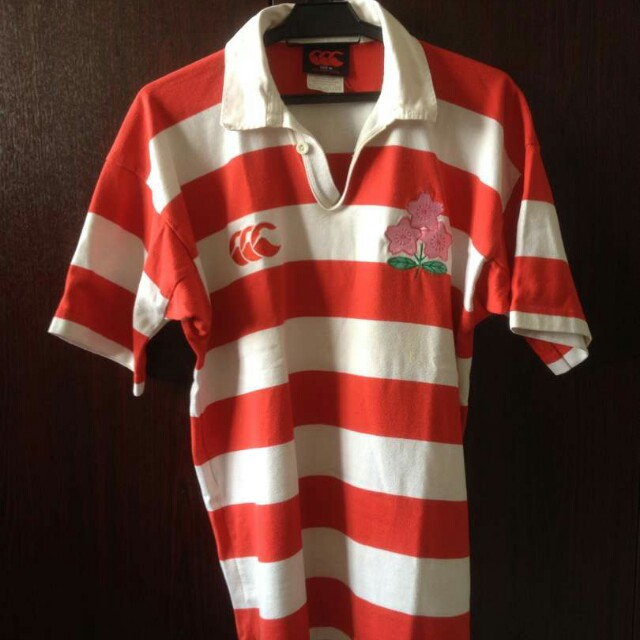 Vintage/Used Canterbury (CCC) Japan Rugby Jersey, Sports