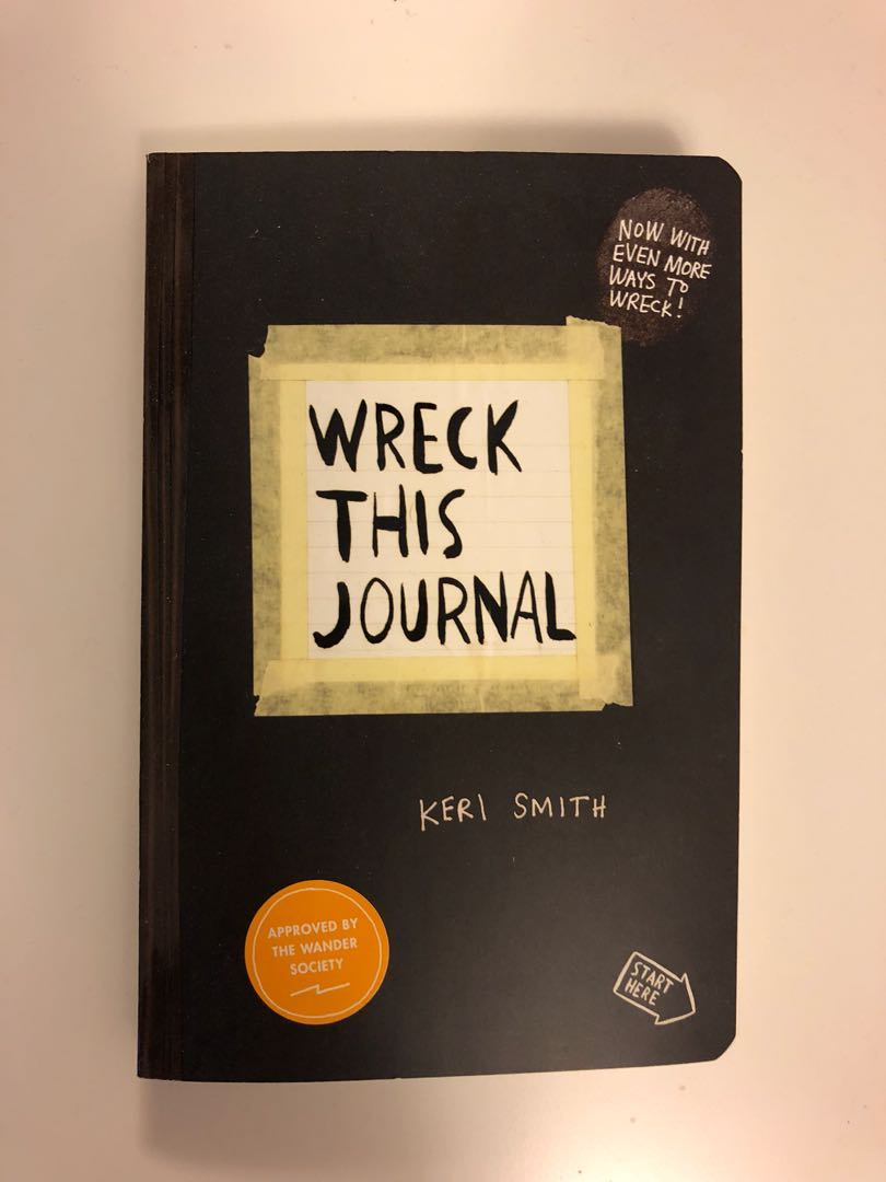 Wreck This Journal - brand new!