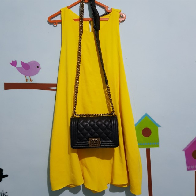 Zara playsuit or jumpsuit yellow