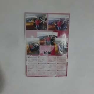 # mau pulsa Kalender foto pribadi