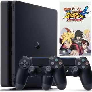 (PS4 FOR RENT) NARUTO SHIPPUDEN: Ultimate Ninja STORM 4 Road to Boruto Bundle