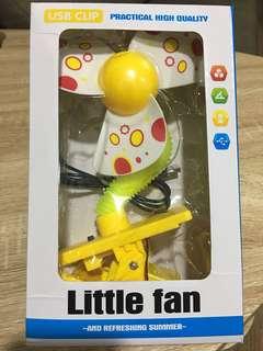 Baby clip fan