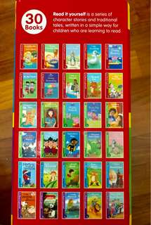 Ladybird Read It Yourself Levels 1-4 30 books