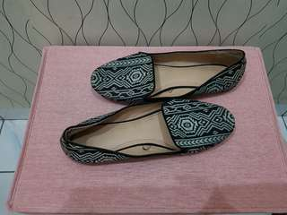 Zara TRF flat shoes