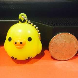 Yellow Bird Keychain