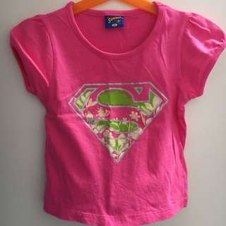 Super Baby Girl Tee for 2T/3T