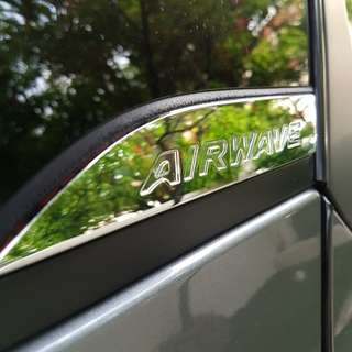 Honda Airwave - One PAIR of ORIGINAL side emblem
