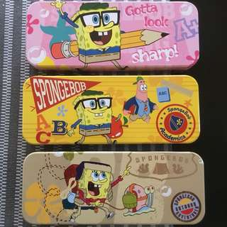 Authentic Spongebob Pencil Case