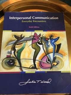 Interpersonal Communication by Julia T. Wood