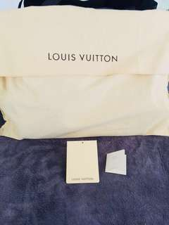 LOUIS VUITTON Limited Edition Grand Bleu Monogram Ikat Neverfull bag. *FREESHIPPING*