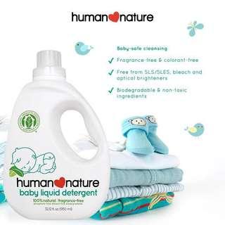 Human Nature Liquid Detergent