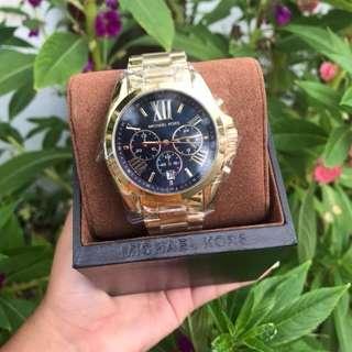 MK Bradshaw Gold with black dial