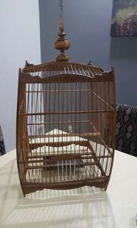 Jambul square bird cage