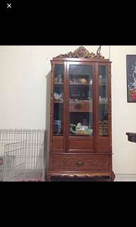 Peranakan display cabinet