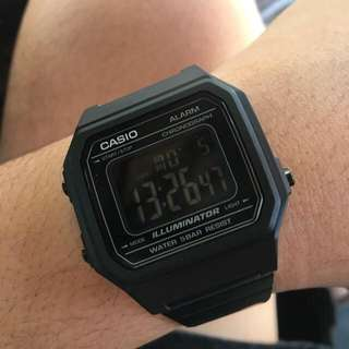 Original Casio in Black