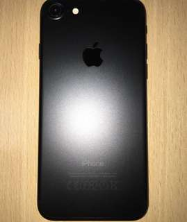 BRAND NEW IPHONE 7 MATTE BLACK PHONE