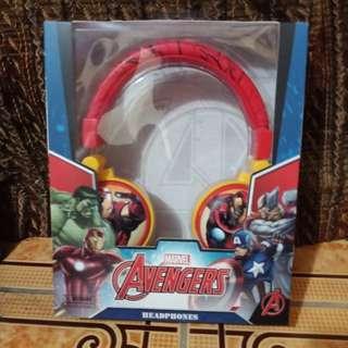 Original Avengers Iron Man Headphones
