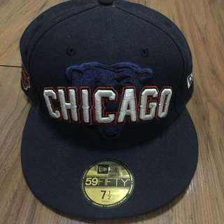 New Era Chicago Bears NFL Draft 59Fifty Fitted Hat