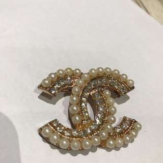 Chanel Inspired Brooch