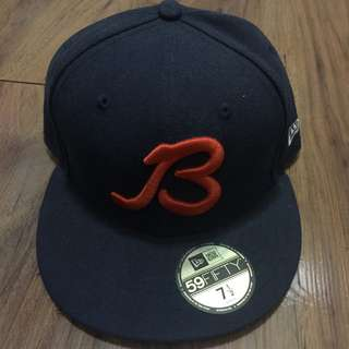 New Era Chicago Bears Retro B Logo 59Fifty Fitted Hat