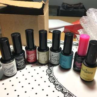 Étude house gel nail polishes