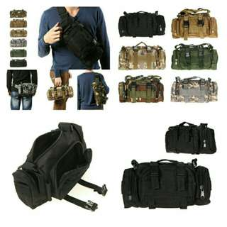 🆒🆕 Utility Tactical Waist Pouch Military Camping Belt Bags