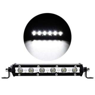 "17""-18W Flood LED Light Work Bar Lamp Driving Fog Offroad SUV 4WD Car Boat Truck"