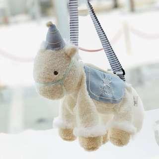 Unicorn Dreamy Plushy Girl Children Sling Bag