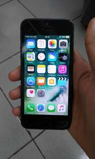 Iphone 5 Blackmatte 64Gb Fullset Banyak bonus