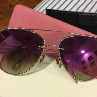 Frency and Mercury Pink Sunnies