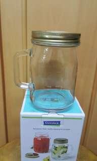 韓國制造 玻璃樽 水杯