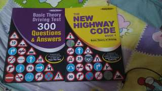 Basic theory test book and 300 QnA book