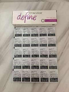1 Day Acuvue Define 動人啡