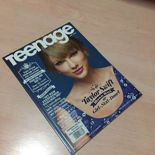Taylor Swift Cover with Poster