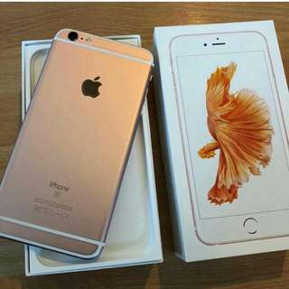 Iphone 6s plus 2nd hand 16gb rosegold
