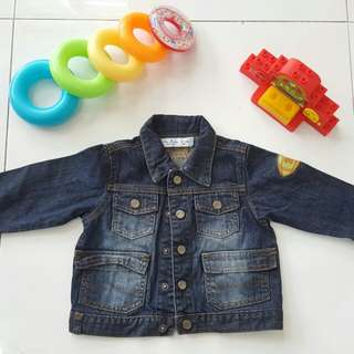 Denim maong jacket 12 to 18 months