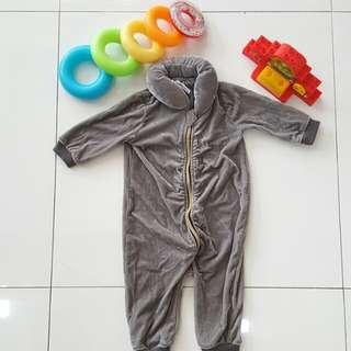 Gray costume