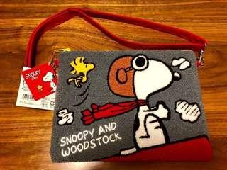 日本直購 Snoopy 2 way clutch bag