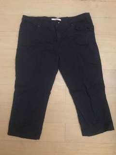 Dark blue Camaieu pants