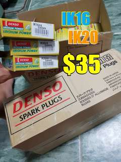 Spark Plug Denso Iridium power ik16 ik20 ( see yourself )