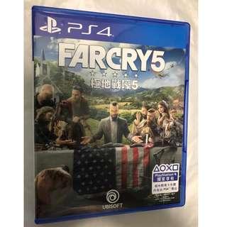 PS4 game Far Cry 5 中文版  FarCry V 極地戰嚎5 極地戰嚎 5 FARCRY5 有Code