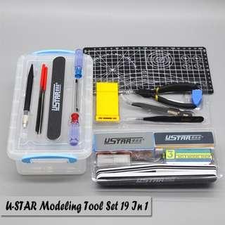 U-Star Taiwan Model Kit Set