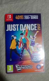 Nintendo switch game just dance 2017