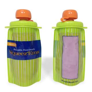BooginHead Squeez'Ems - Reusable Food Pouch