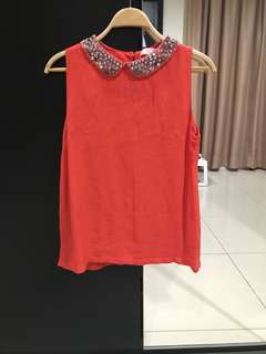 BYSI Elegant Coral Top (Size S)