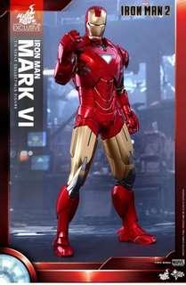 Hottoys Ironman Mark VI 上海迪士尼版 全新未開盒