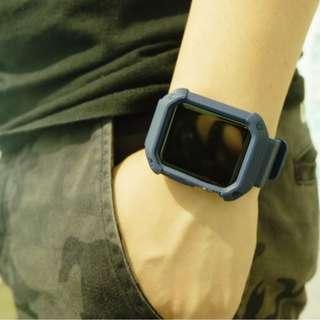 Apple Watch 錶殻連錶帶 1秒變G-Shock for 42MM series 1/2/3