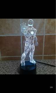 Iron man LED display